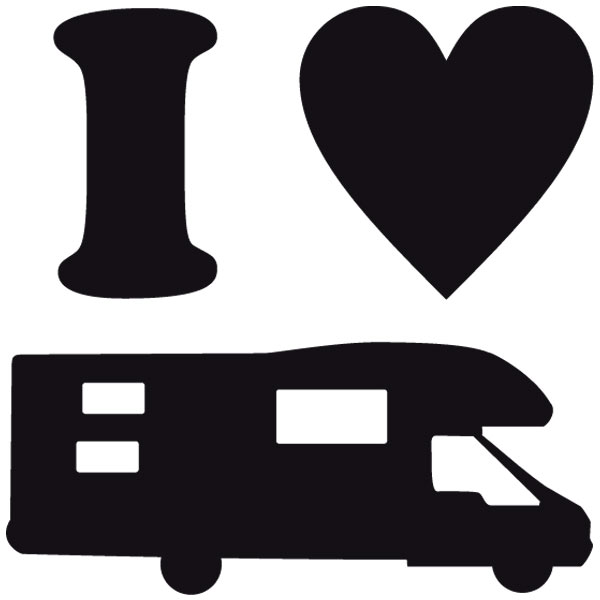 Aufkleber: I Love AC 01