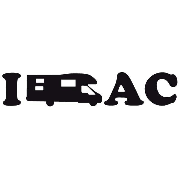 Aufkleber: I Love AC 02