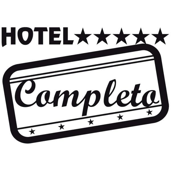 Aufkleber: Hotel Completo 01