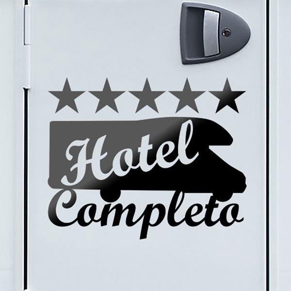 Aufkleber: Hotel Completo 02