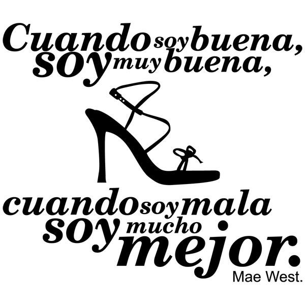 Wandtattoos: Mae West