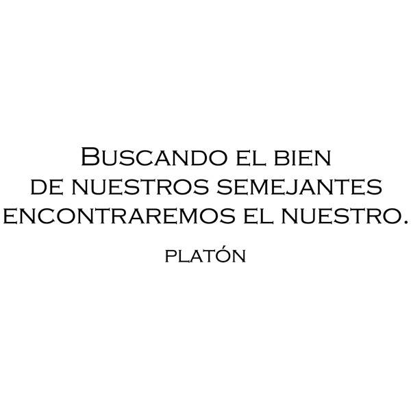Wandtattoos: Platon cita