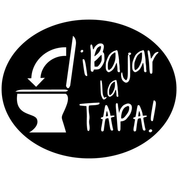 Wandtattoos: Bajar la Tapa