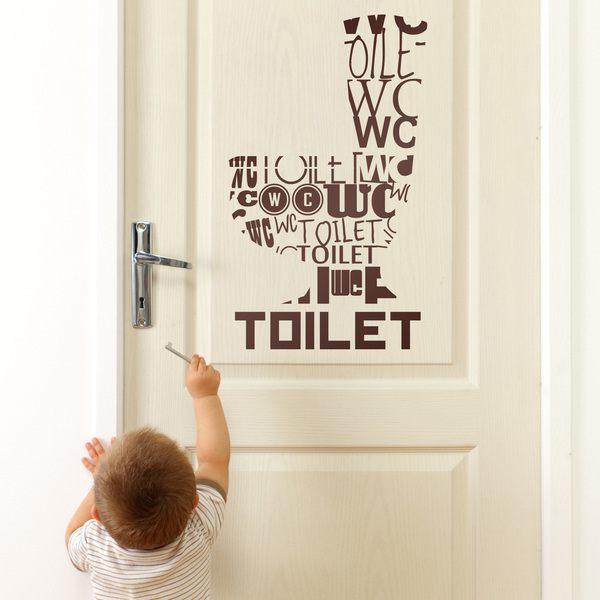 Wandtattoos: Toilet Idiomas