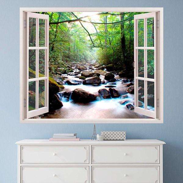 wandtattoos steine im fluss. Black Bedroom Furniture Sets. Home Design Ideas