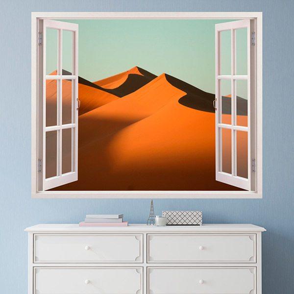 Wandtattoos: Dünen in der Wüste