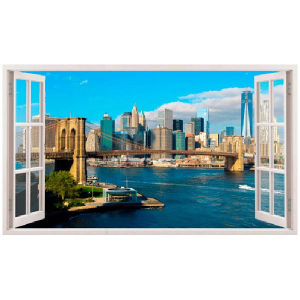 Wandtattoos: Übersicht über Skyline New York