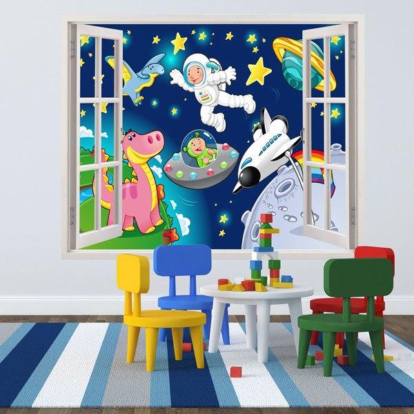 Kinderzimmer Wandtattoo: Raum