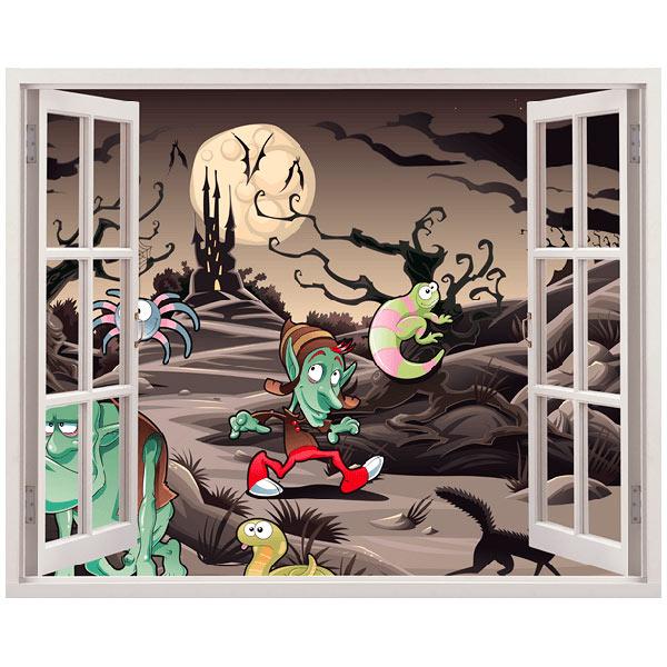 Kinderzimmer Wandtattoo: magische Nacht