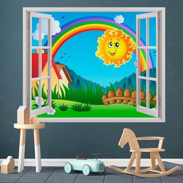 Kinderzimmer Wandtattoo: Der Ansatz