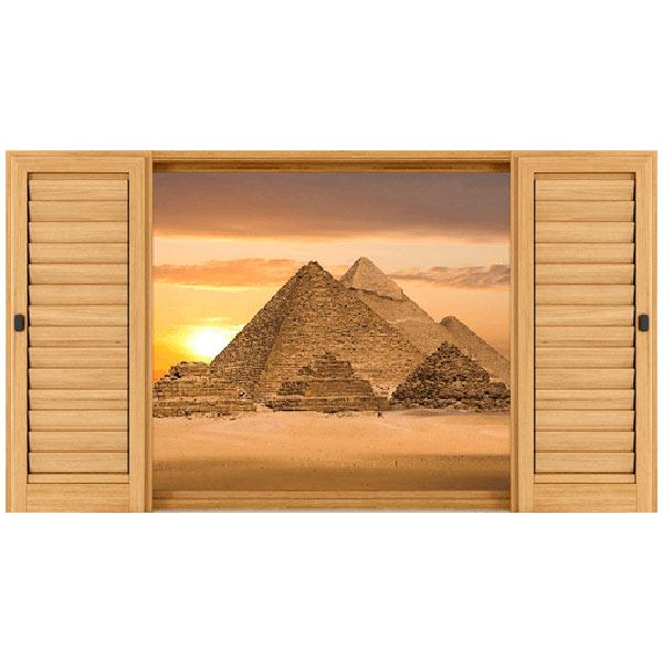 Wandtattoos: Pyramiden