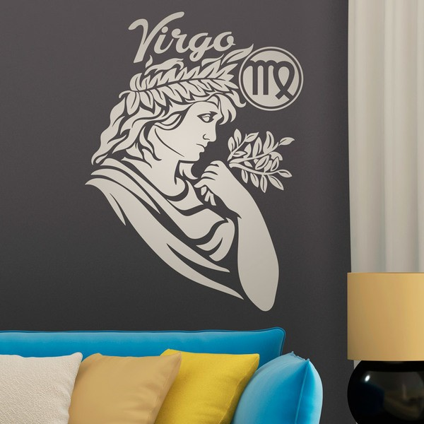 Wandtattoos: zodiaco 28 (Virgo)