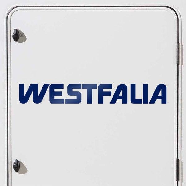Aufkleber: Westfalia 1