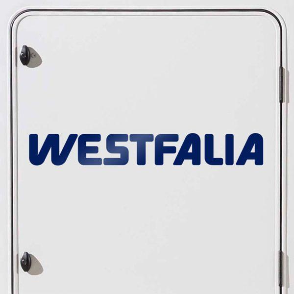 Aufkleber: Westfalia 2
