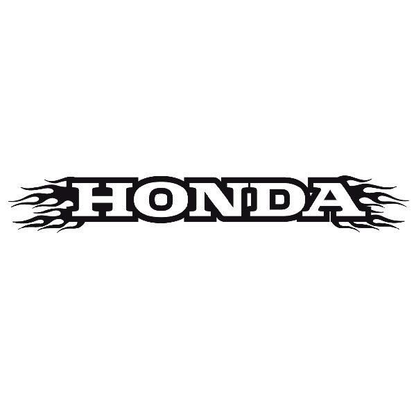 Aufkleber: Parasol Honda