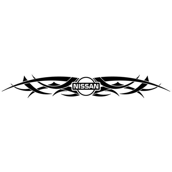 Aufkleber: Parasol Logo Nissan