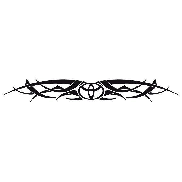 Aufkleber: Parasol Logo Toyota