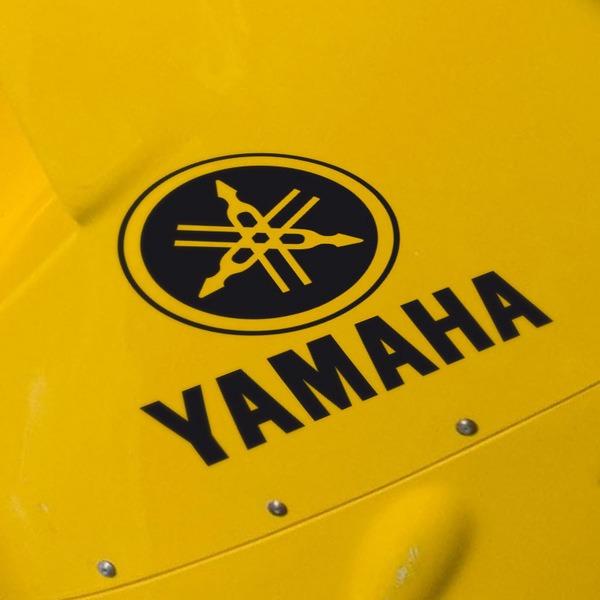 Aufkleber: Yamaha VIII