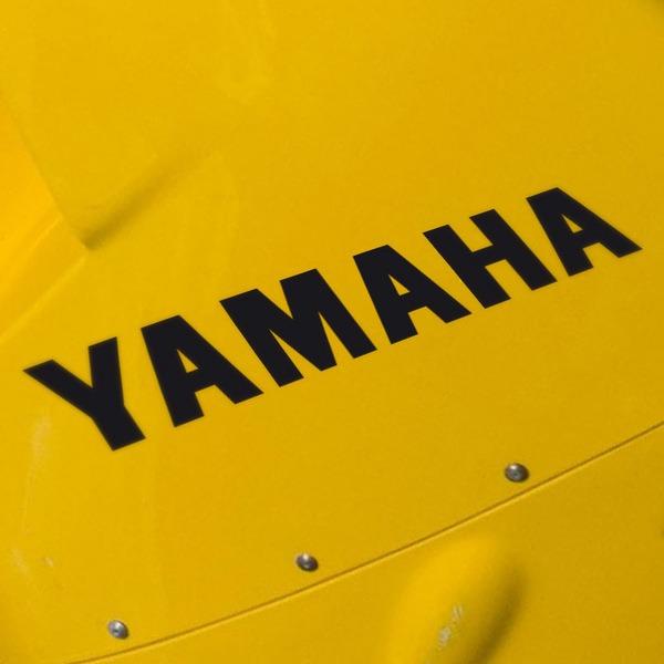 Aufkleber: Yamaha