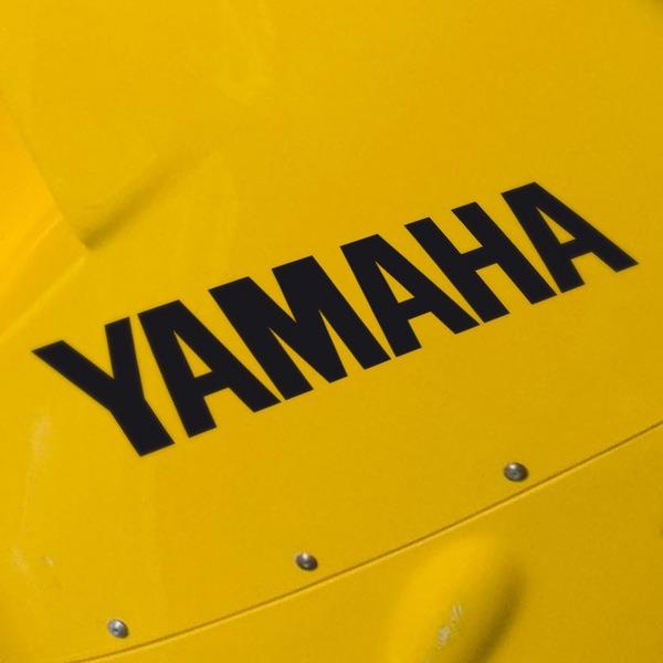 Aufkleber: Yamaha II