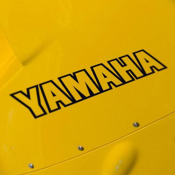 Aufkleber: Yamaha V
