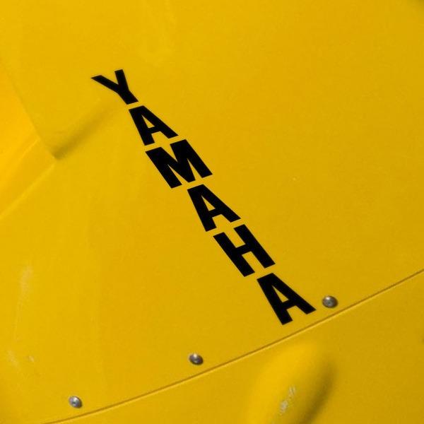 Aufkleber: Yamaha vertical