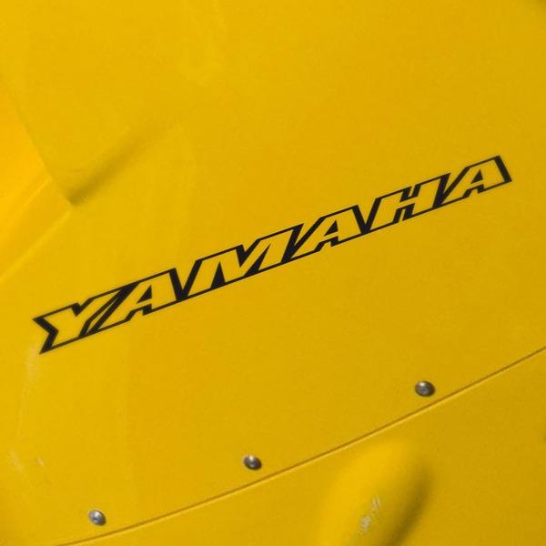 Aufkleber: Yamaha IV
