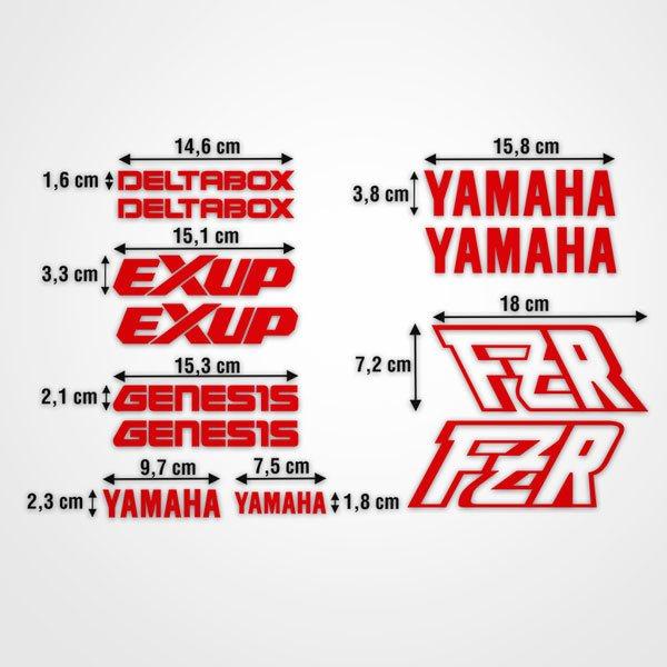 Aufkleber: kit Yamaha FZR