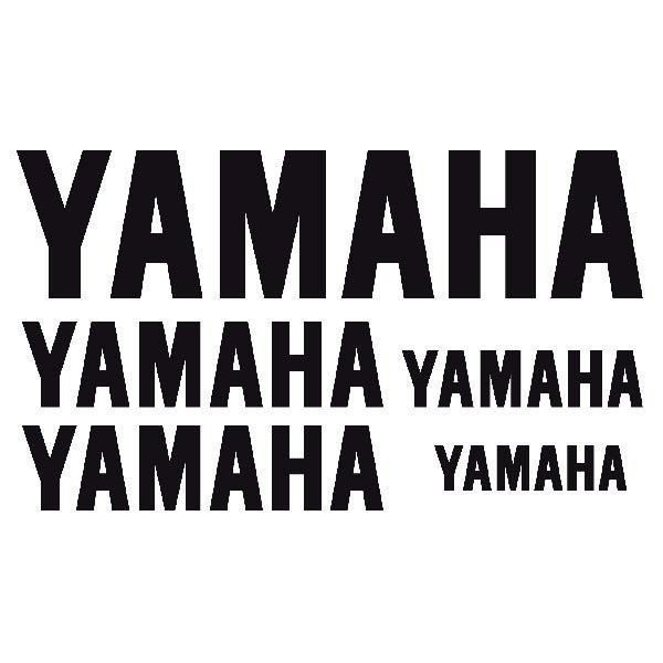 Aufkleber: Kit Yamaha 1