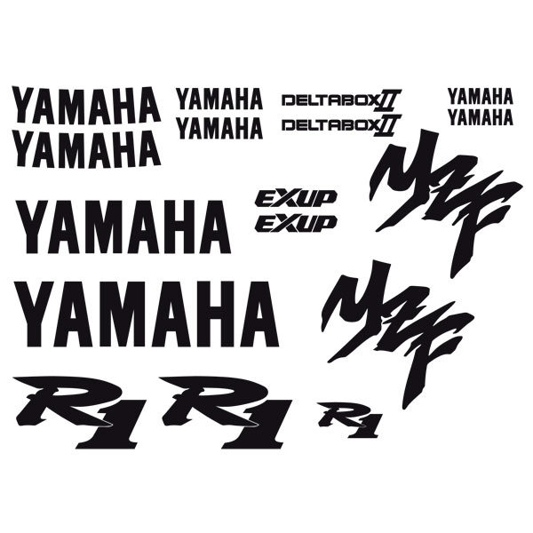 Aufkleber: Yamaha YZF R1