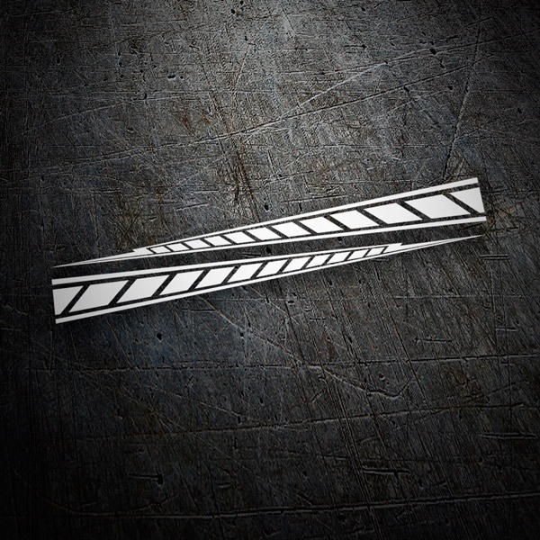 Aufkleber: Yamaha M1 stripes