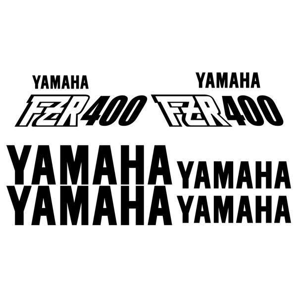 Aufkleber: FZR 400