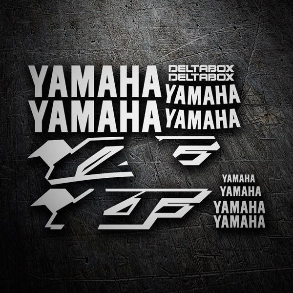 Aufkleber: YZF 600 1997-01