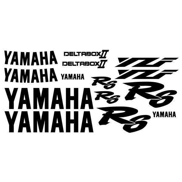 Aufkleber: YZF R6 2000