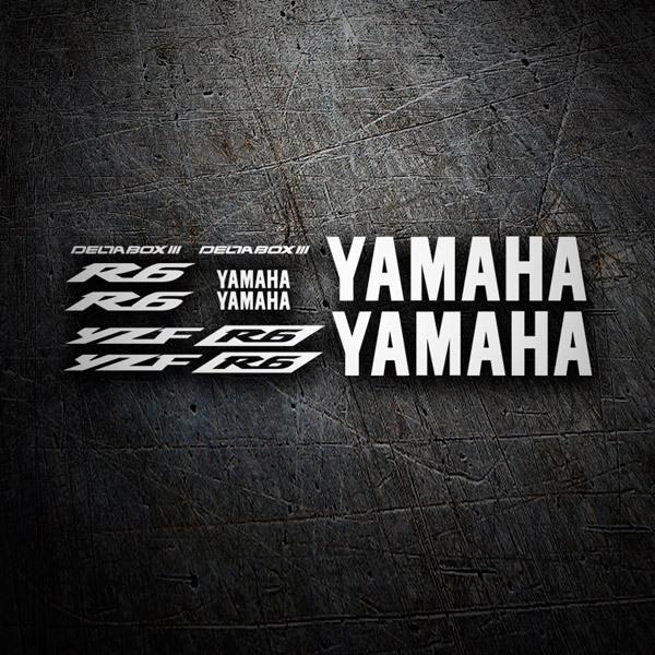 Aufkleber: YZF R6 2003 II