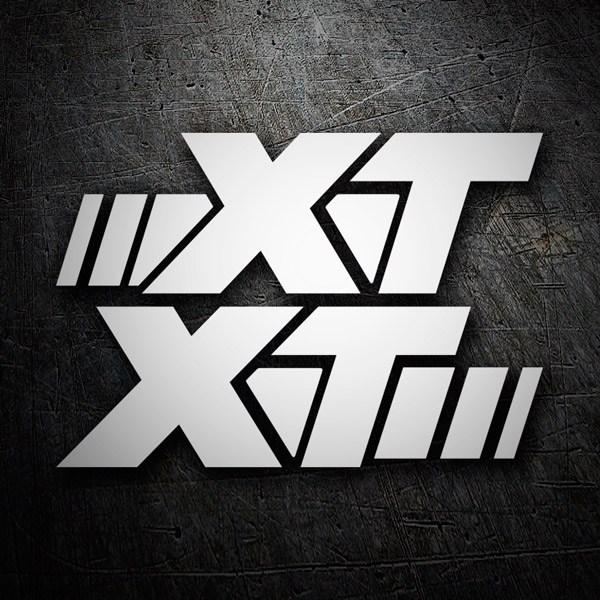 Aufkleber: XT 600
