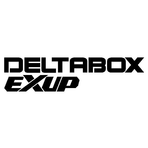 Aufkleber: Deltabox Exup