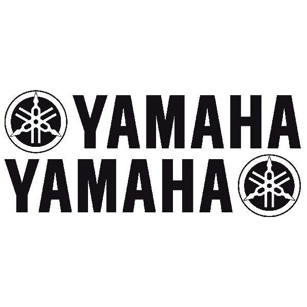 Aufkleber: Yamaha XI