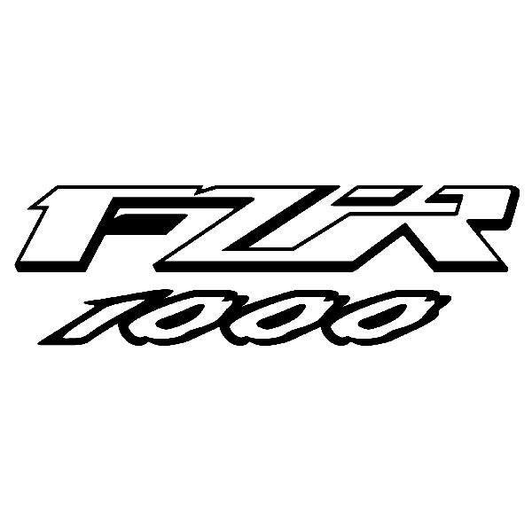 Aufkleber: FZR 1000
