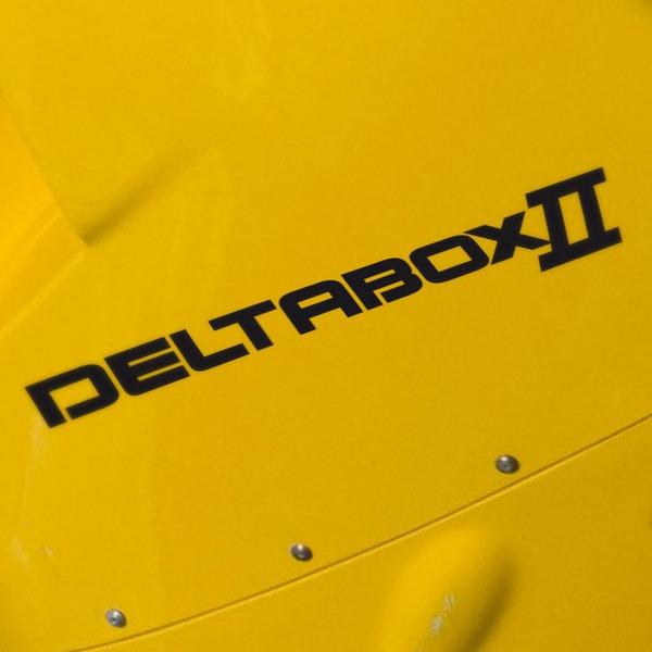 Aufkleber: Deltabox