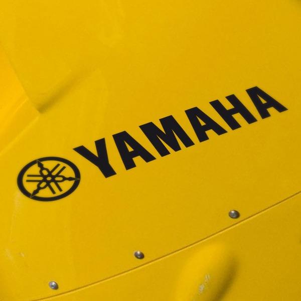 Aufkleber: Yamaha III