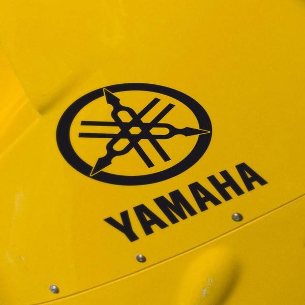 Aufkleber: Yanaha IX