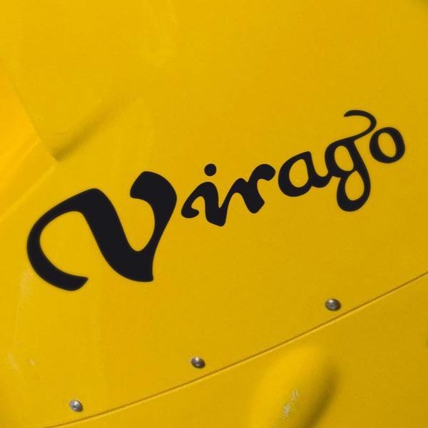 Aufkleber: Virago