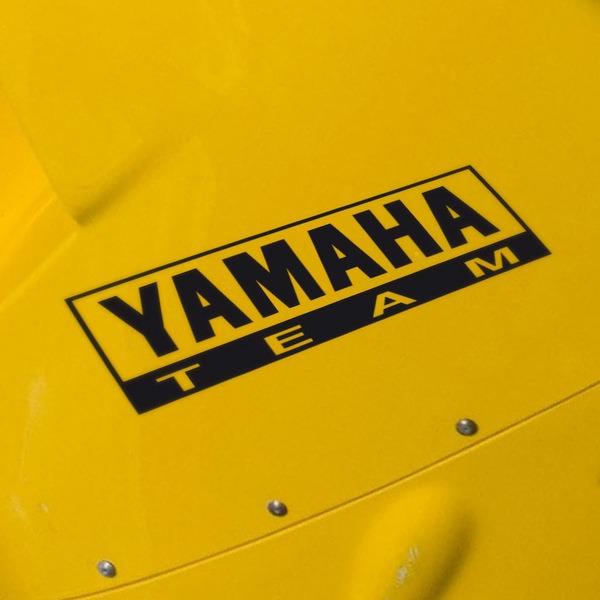 Aufkleber: Yamaha Team