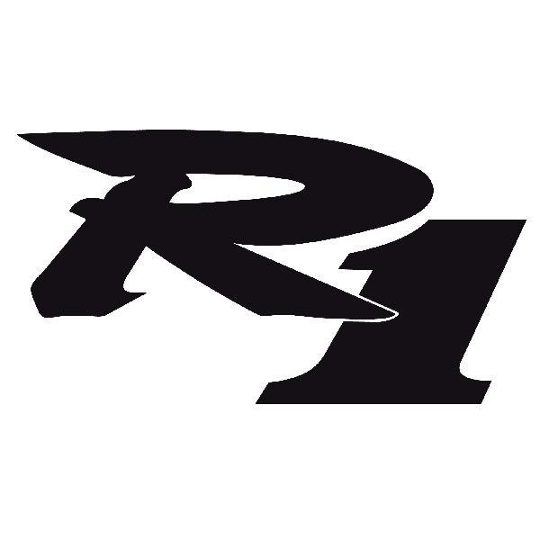 Aufkleber: R1