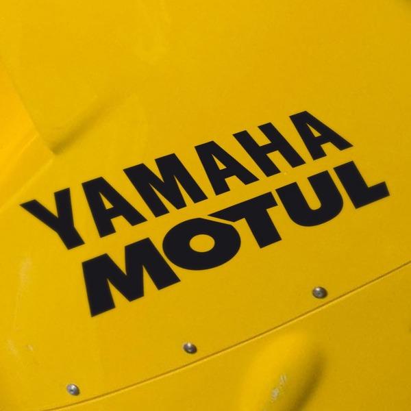 Aufkleber: Yamaha Motul
