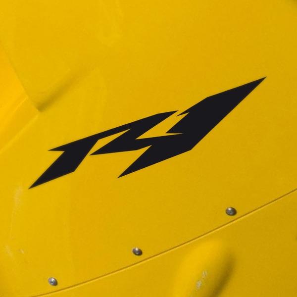 Aufkleber: Yamaha Racing R1