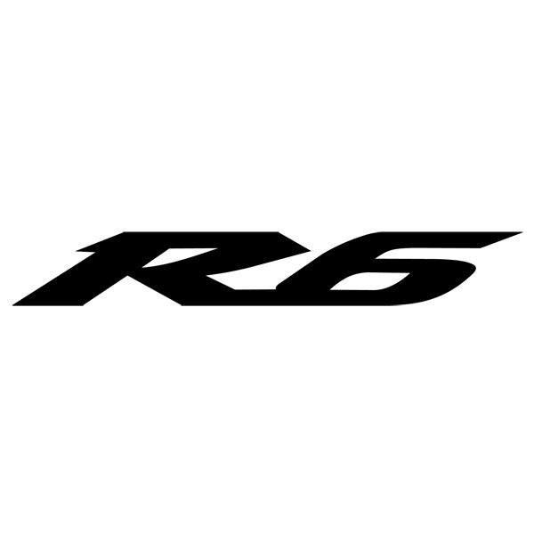 Aufkleber: Yamaha Racing R6