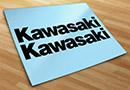 Aufkleber kawasaki