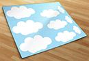 Wandtattoos wolken kit